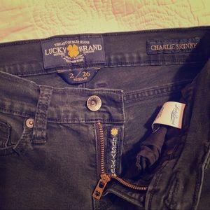 Lucky Brand  Charlie Skinny black jeans